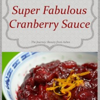 Super Fabulous Cranberry Sauce