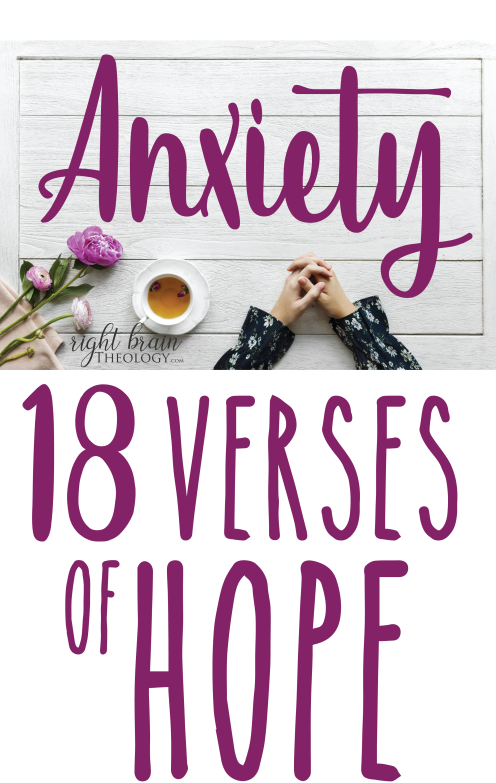 Anxiety - 18 Verses of Hope