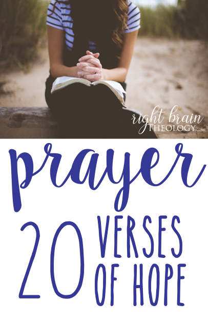 Prayer: 20 Verses of Hope