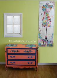 Dresser and Quilt
