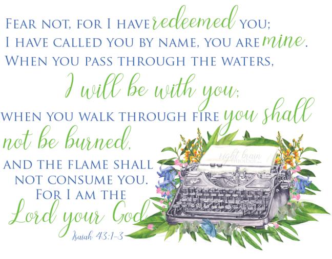 Isaiah 43 Right Brain Theology